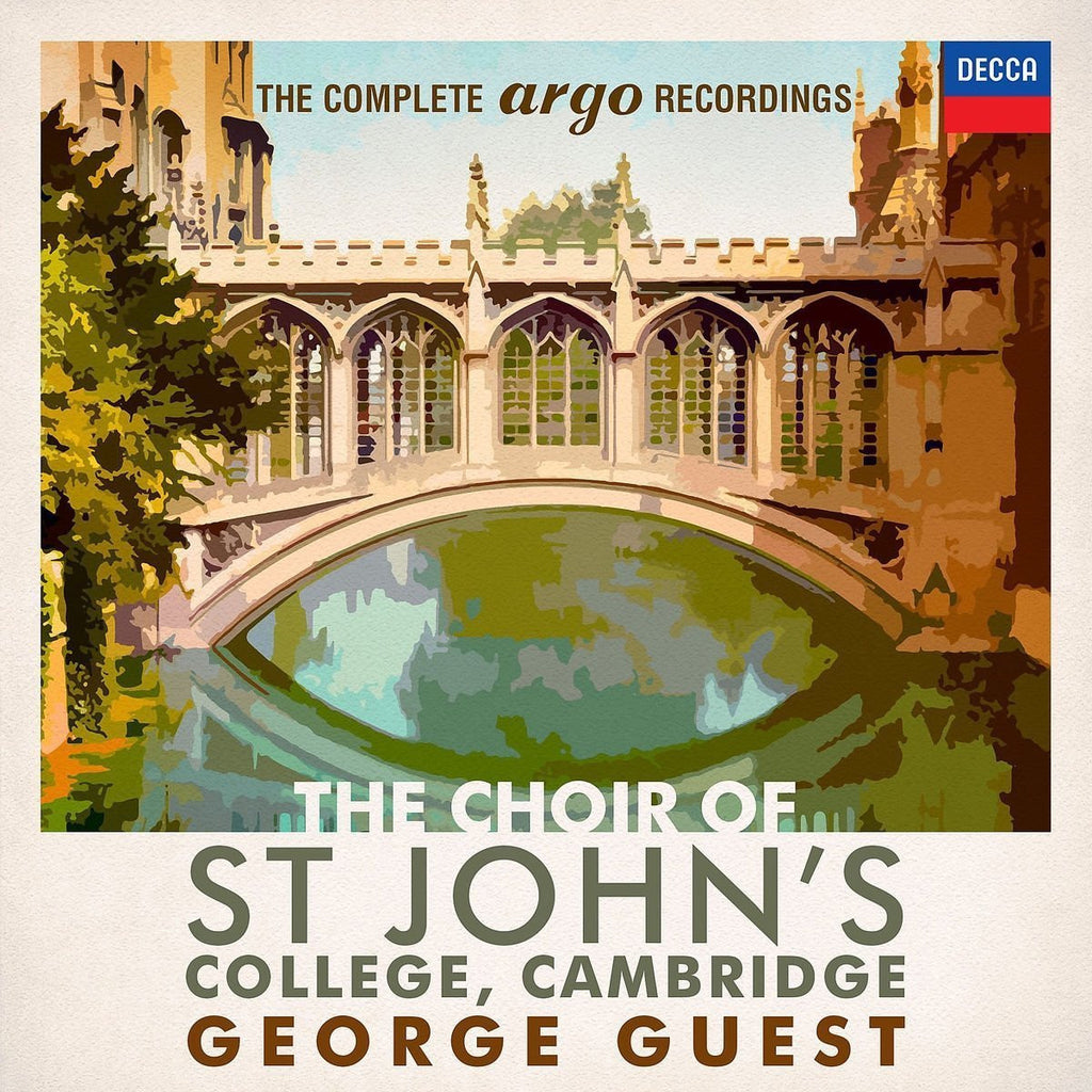 THE CHOIR OF ST. JOHN'S: THE COMPLETE ARGO RECORDINGS (42 CDS)