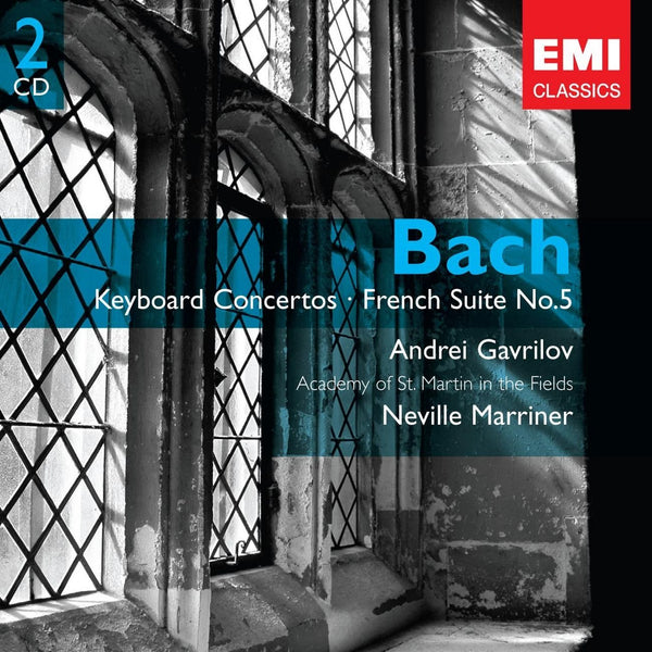BACH: KEYBOARD CONCERTOS - GAVRILOV, ANDREI, ACADEMY OF ST. MARTIN IN THE FIELDS (2 CDs)