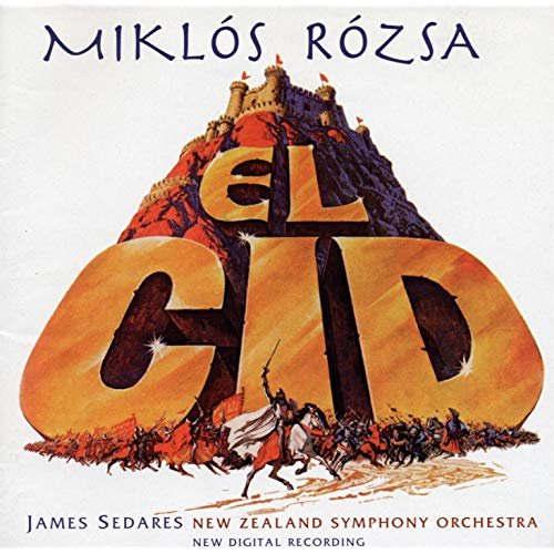 Rosza: El Cid - New Zealand Symphony Orchestra, James Sedaris (digital download)