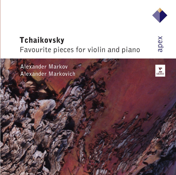 TCHAIKOVSKY: FAVORITE PIECES FOR VIOLIN AND PIANO - MARKOV; MARKOVICH