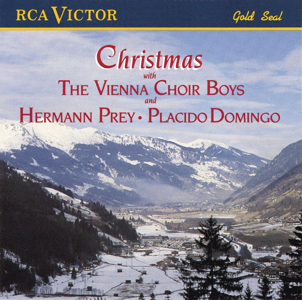 CHRISTMAS WITH THE VIENNA CHOIR BOYS WITH HERMANN PREY & PLACIDO DOMINGO