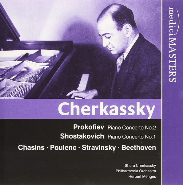 CHERKASSKY PERFORMS PROKOFIEV AND SHOSTAKOVICH