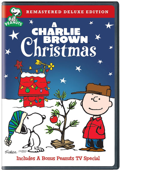 A Charlie Brown Christmas (Remastered Deluxe Edition DVD)
