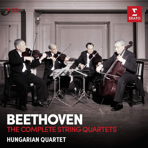 Beethoven: The Complete String Quartets - Hungarian Quartet (7 CDs)