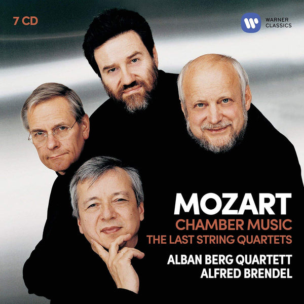 MOZART: CHAMBER MUSIC (THE LAST STRING QUARTETS) - ALBAN BERG QUARTET (7 CDS)