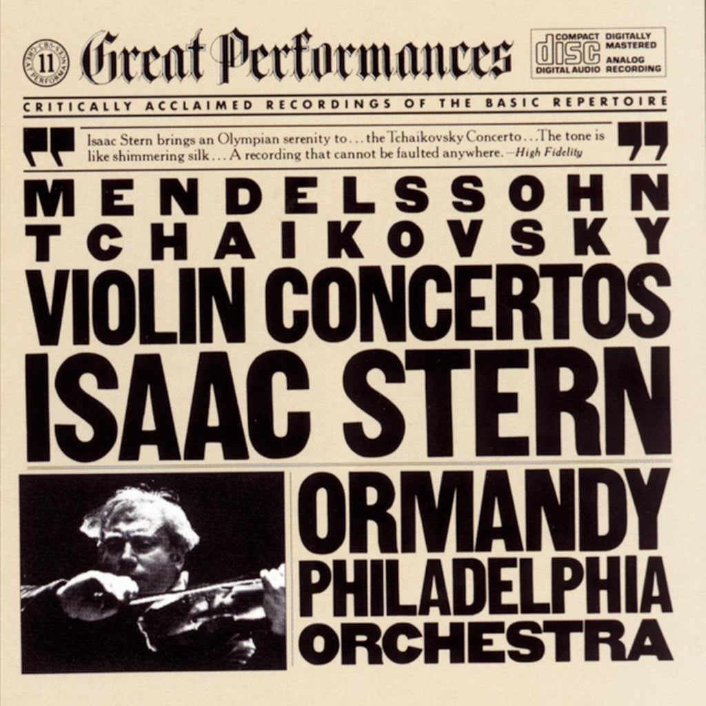 Mendelssohn and Tchaikovsky: Violin Concertos - Isaac Stern, Eugene Ormandy, Philadelphia Orchestra