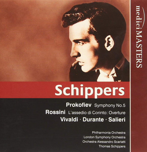 SCHIPPERS CONDUCTS PROKOFIEV, VIVALDI AND MORE