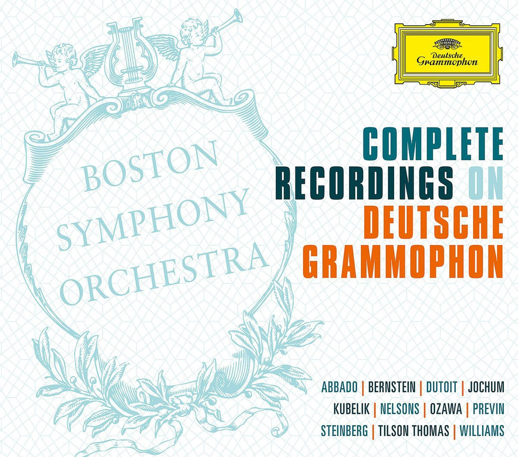 BOSTON SYMPHONY ORCHESTRA - COMPLETE RECORDINGS ON DEUTSCHE GRAMMOPHON (57 CDS)