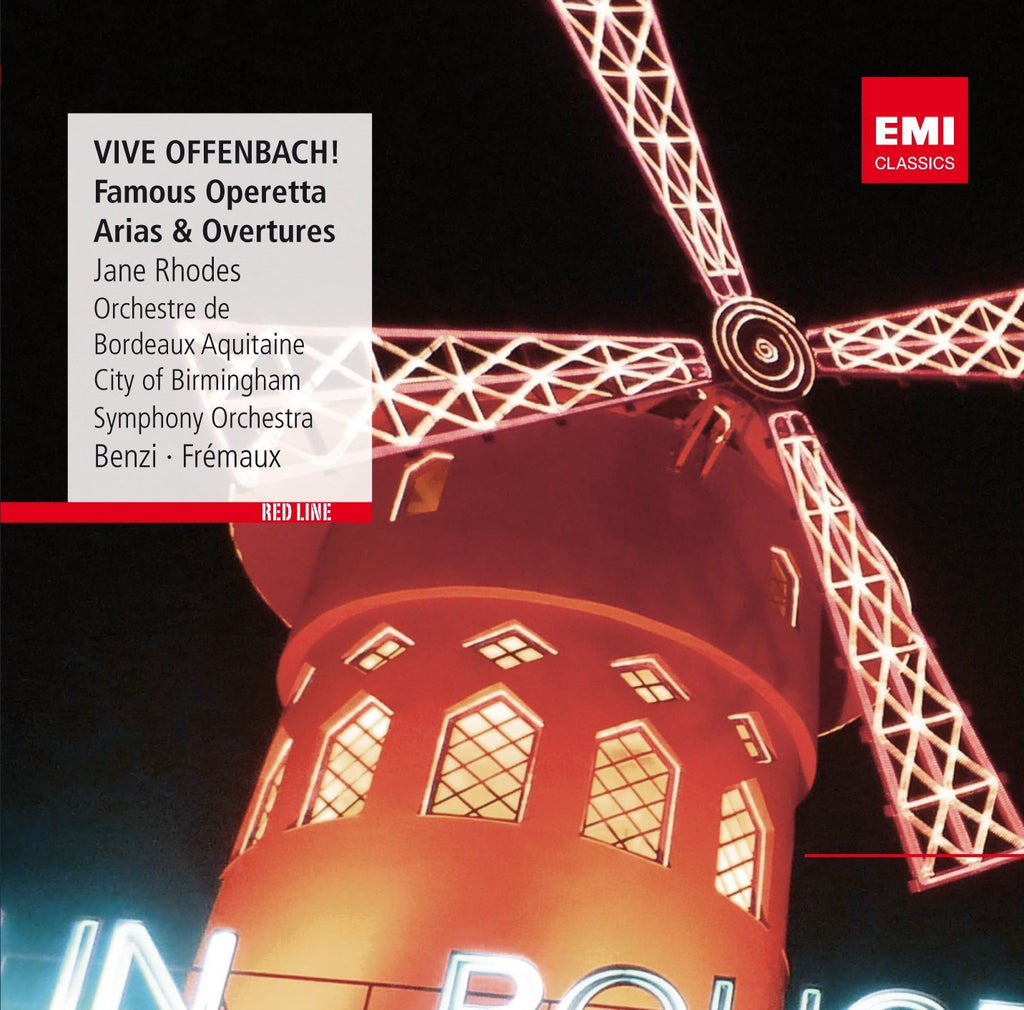 VIVE OFFENBACH! FAMOUS OPERETTA ARIAS AND OVERTURES - RHODES, J., FREMAUX