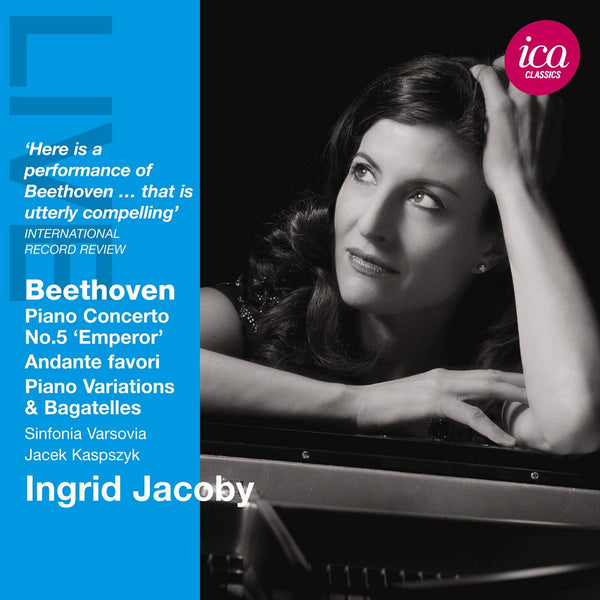 BEETHOVEN: PIANO CONCERTO NO. 5 - INGRID JACOBY