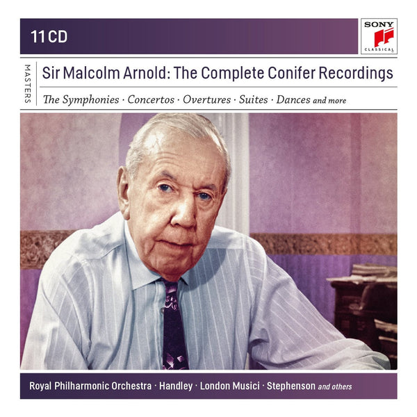 ARNOLD, SIR MALCOLM: THE COMPLETE CONIFER RECORDINGS (11 CDS)