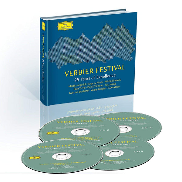 VERBIER FESTIVAL - 25 YEARS OF EXCELLENCE (4 CDS)