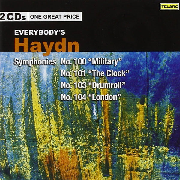"Haydn: Everybody's Haydn - Symphonies No. 100 ""Military,"" No. 101 ""The Clock,"" No. 103 ""Drumroll,"" & No. 104 (2 CDs)"