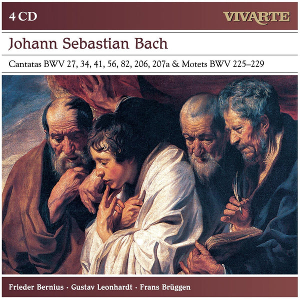 BACH, J.S.: CANTATAS & MOTETS (4 CDS)