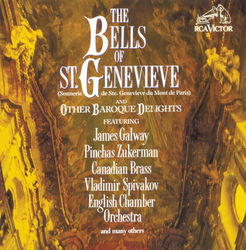 The Bells of St. Genevieve and Other Baroque Delights - Galway, Zukerman, Canadian Brass, ECO