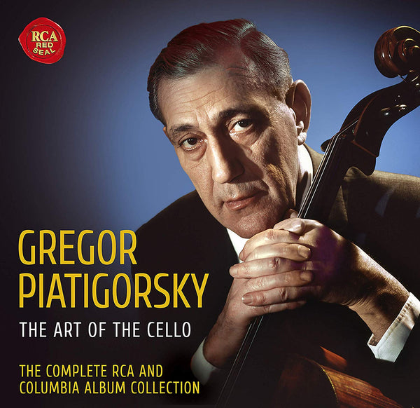 Gregor Piatigorsky: The Art of the Cello - The Complete RCA and Columbia Album Collection (36 CDs)