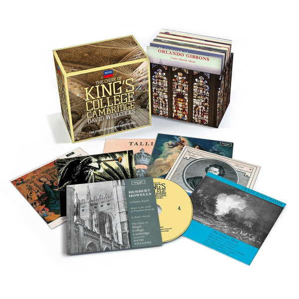 CHOIR OF KING'S COLLEGE, CAMBRIDGE: THE COMPLETE ARGO RECORDINGS (29 CDS)