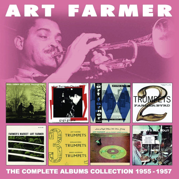 Art Farmer - Complete Albums Collection: 1955-1957 (4 CDs)