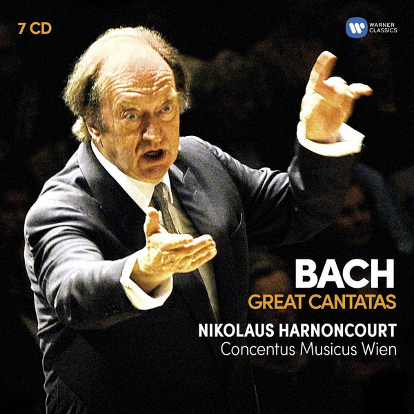 BACH: GREAT CANTATAS - HARNONCOURT (7 CDS)