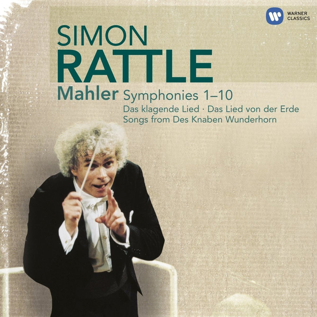Mahler: Symphonies 1-10 - Sir Simon Rattle, City of Birmingham Symphony Orchestra, Berlin Philharmonic (14 CDs)