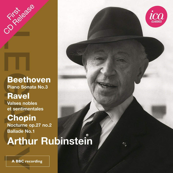 ARTHUR RUBINSTEIN PLAYS BEETHOVEN, RAVEL & CHOPIN