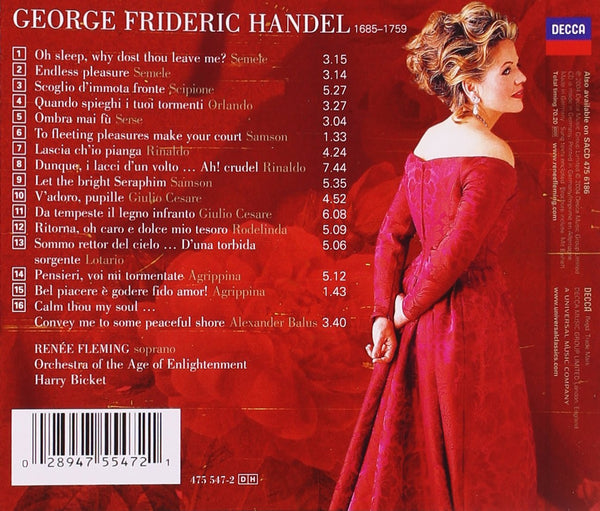 Handel: Arias - Renee Fleming, Orchestra of the Age of Enlightenment