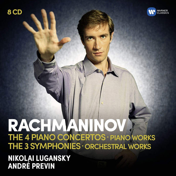 Rachmaninov: The Four Piano Concertos, Piano Works, Three Symphonies and Orchestral Works (8 CDS)