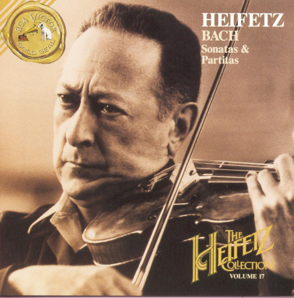 Bach: Unaccompanied Sonatas & Partitas - The Heifetz Collection Vol. 17 (2 CDs)