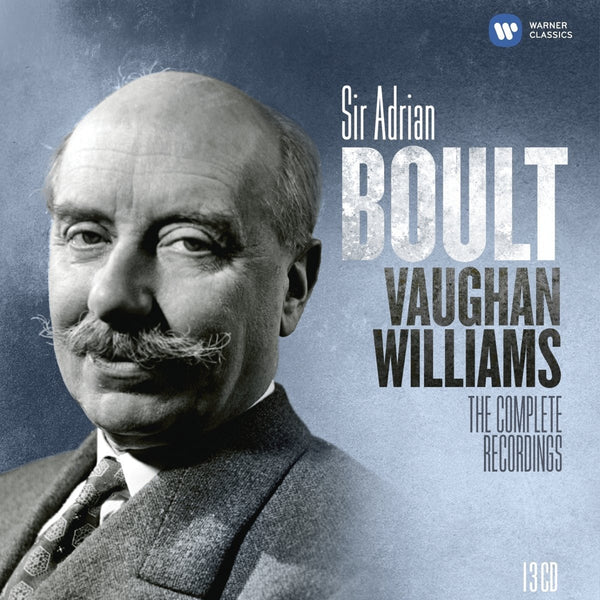 Vaughan Williams: The Complete Sir Adrian Boult EMI Recordings (13 CDs)