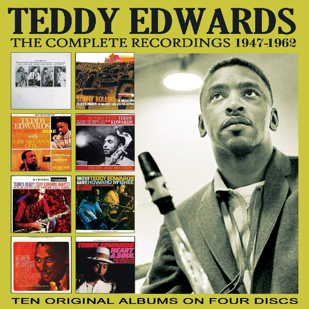 Teddy Edwards - Complete Recordings: 1947-1962 (4 CDs)