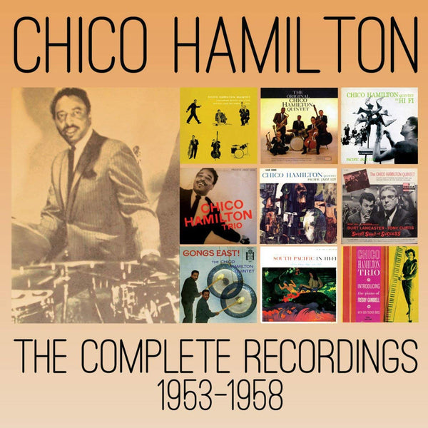 Chico Hamilton - Complete Recordings 1953-1958 (5 CDS)