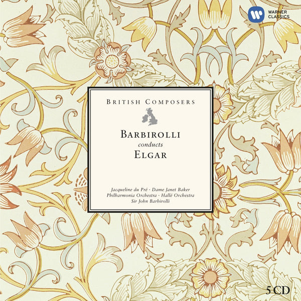 British Composers - Sir John Barbirolli conducts Elgar (5 CDs)