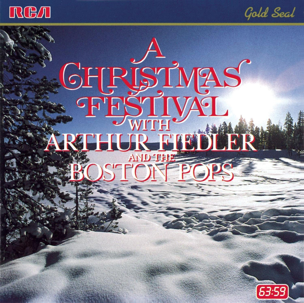 A Christmas Festival with Arthur Fieldler and the Boston Pops