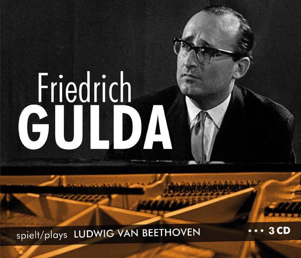 FRIEDRICH GULDA Plays Ludwig Van Beethoven (3CD SET)