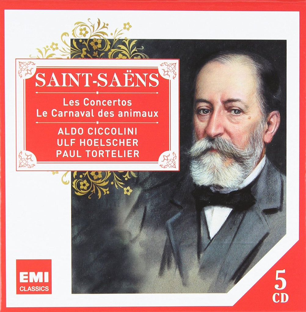 SAINT-SAENS: CONCERTOS, CARNIVAL OF THE ANIMALS