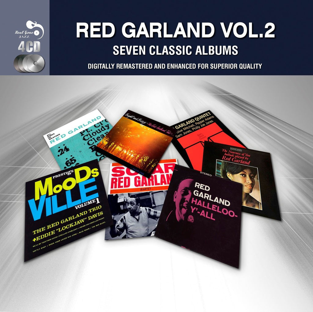 GARLAND, RED (4CD SET): Seven Classic Albums, Vol.2 (Digitally Remastered)