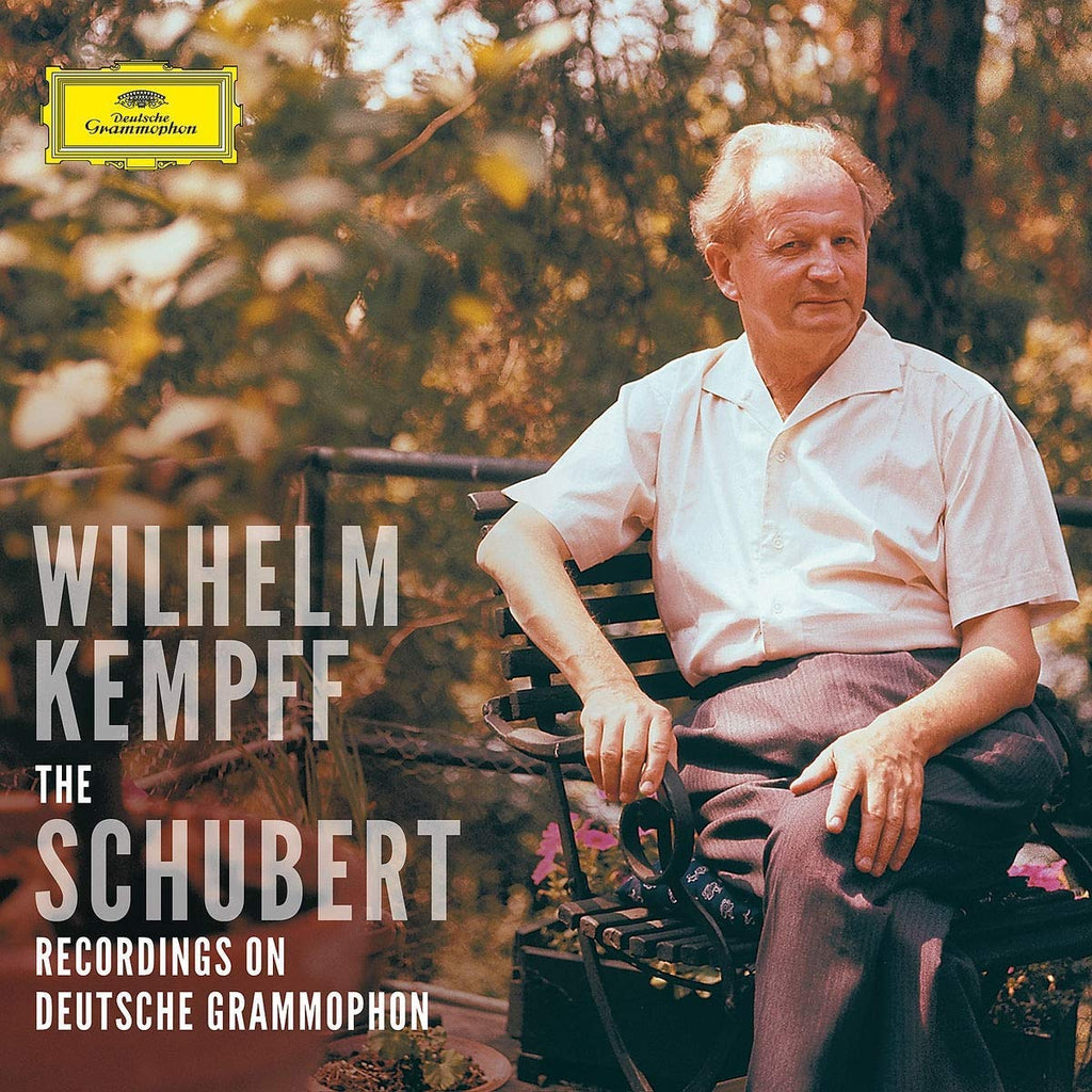 SCHUBERT: THE SOLO RECORDINGS ON DG - WILHELM KEMPFF (9 CDS + BLU RAY AUDIO)
