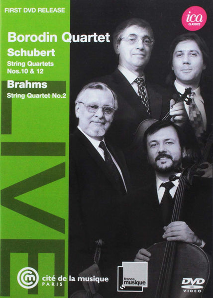 BORODIN QUARTET PLAYS SCHUBERT & BRAHMS (DVD)