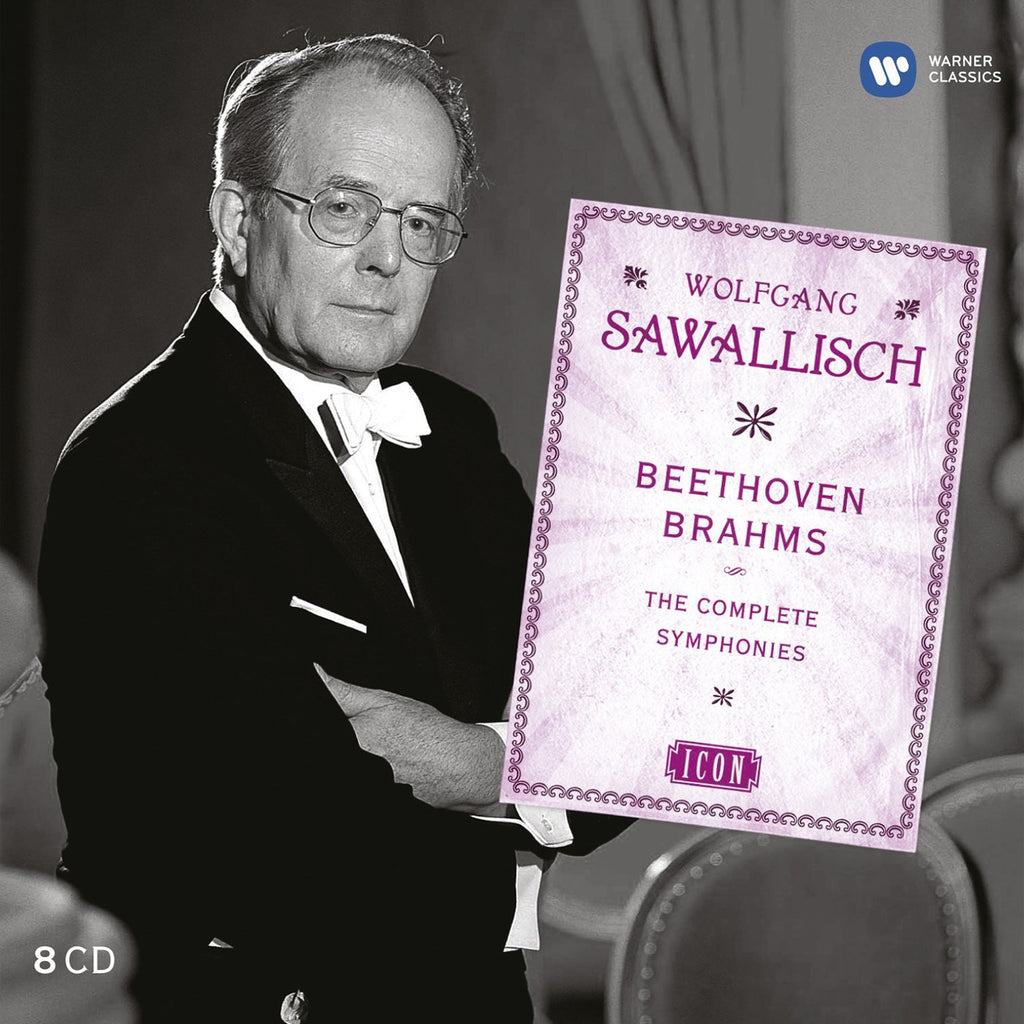 Wolfgang Sawallisch: Icon - Beethoven & Brahms Complete Symphonies (8 CDs)