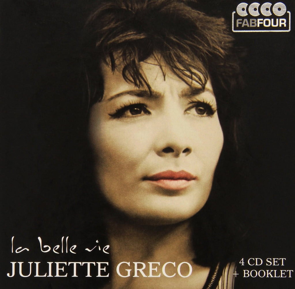 JULIETTE GRECO: La Belle Vie (4CD SET)
