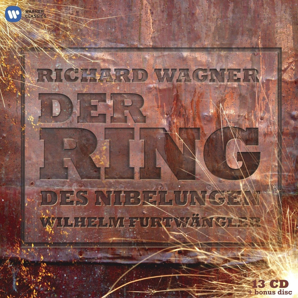 WAGNER: DER RING DES NIBELUNGEN - FURTWANGLER (125TH ANNIVERSARY EDITION) 14 CDS