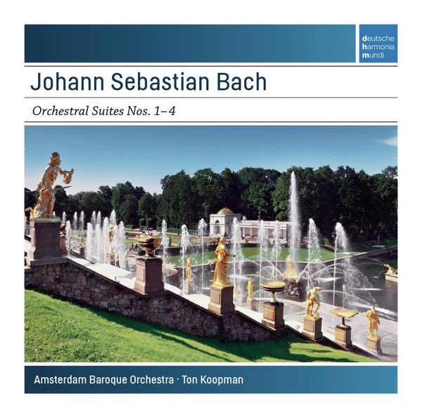 BACH: ORCHESTRAL SUITES NOS. 1-4 - KOOPMAN, AMSTERDAM BAROQUE ORCHESTRA