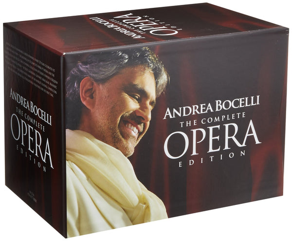 ANDREA BOCELLI - THE COMPLETE OPERA EDITION (18 CDs)