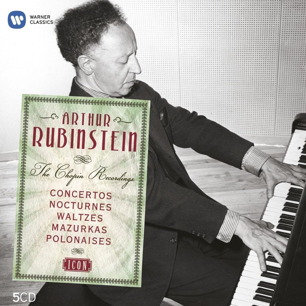 ARTHUR RUBINSTEIN: Icon - The Chopin Recordings (5 CDs)