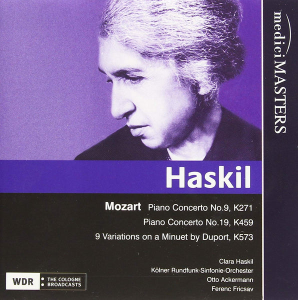 HASKIL PERFORMS MOZART