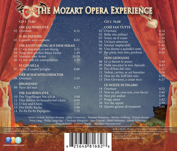 THE MOZART OPERA EXPERIENCE (2 CDs)