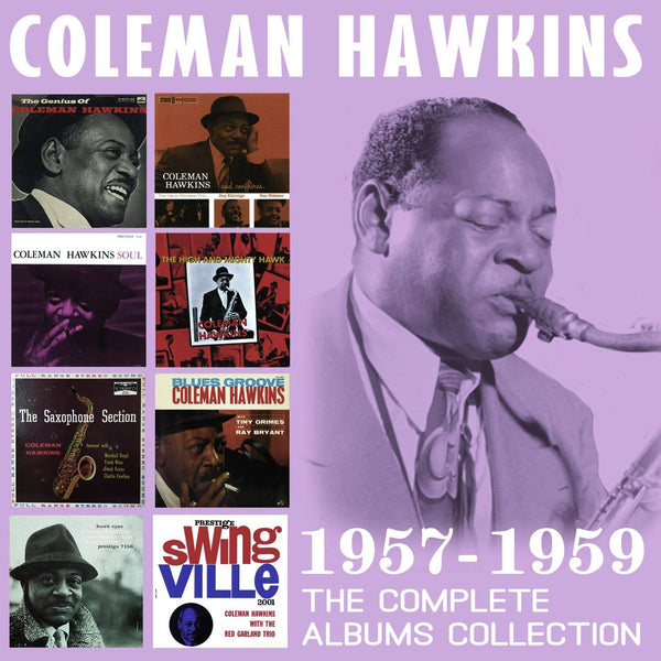 Coleman Hawkins - Complete Albums Collection: 1957-1959 (4 CDS)