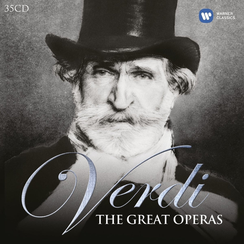 Verdi: The Great Operas - Riccardo Muti (35 CDs)