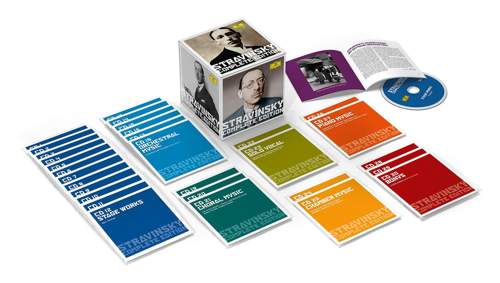 Stravinsky complete edition 30 cds classic select stravinsky complete edition 30 cds m4hsunfo