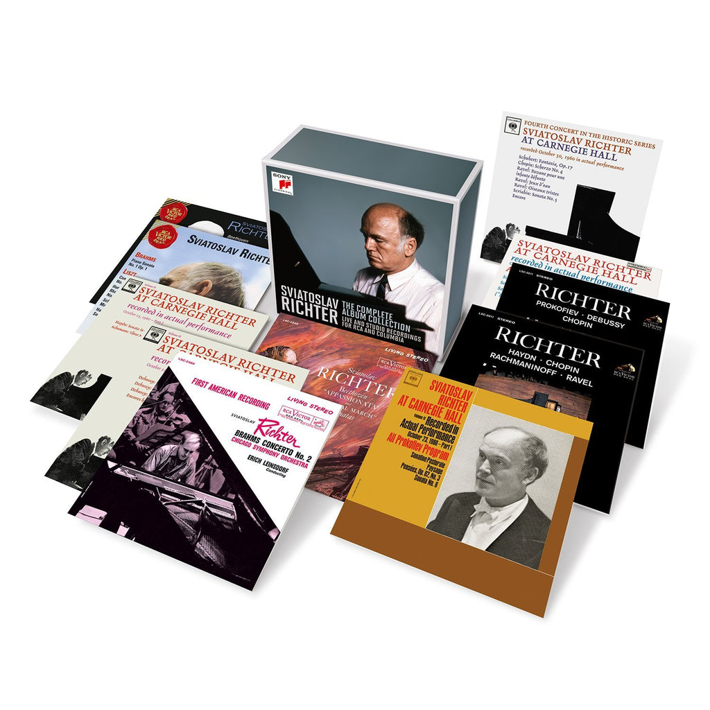 SVIATOSLAV RICHTER - THE COMPLETE COLUMBIA AND RCA ALBUM COLLECTION (18 CDS)
